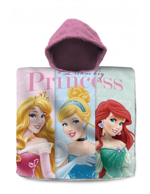 Disney Princess poncho kąpielowe 120x60 cm