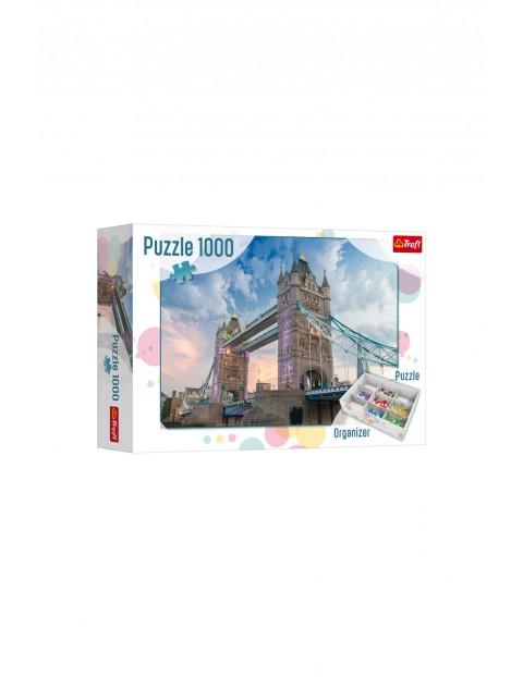 Puzzle 1000 el. Tower Bridge + organizer