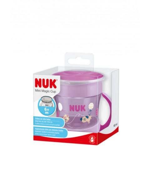 NUK Kubek Mini Magic Cup 360° z uchwytem niekapek 6msc+
