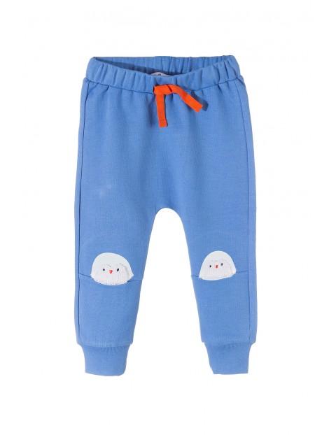 Spodnie niemowlęce dresowe 5M3536