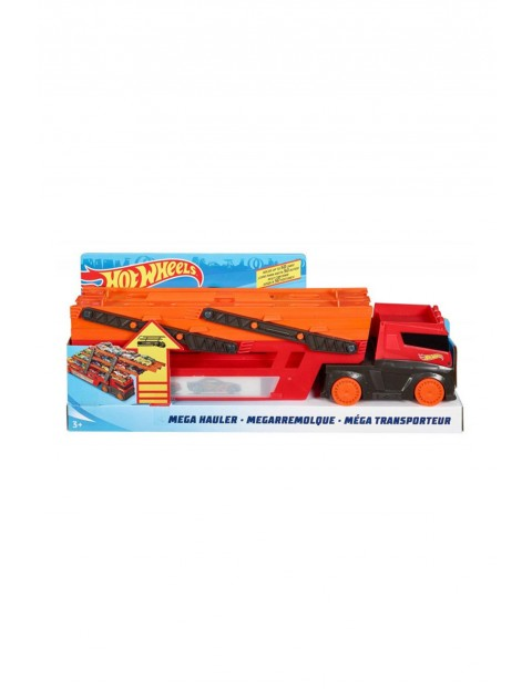 Hot Wheels - Mega Transporter do przewozu aut wiek 3+