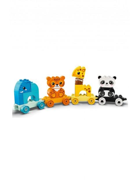 Lego Duplo -  Pociąg ze zwierzątkami - 15 elementów wiek 18msc+