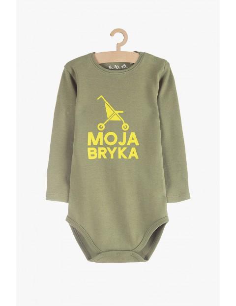 """Body niemowlęce bawełniane """"Moja Bryka"""""""