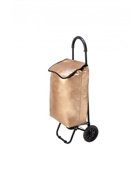 Wózek/torba za zakupy Seria Fashion - złota
