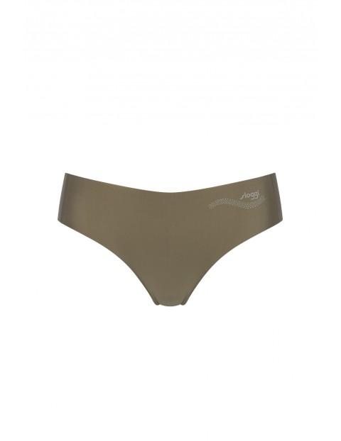 Figi o kroju tanga z nowej kolekcji sloggi zero feel - brązowe