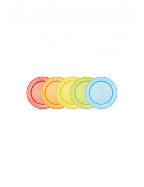 Zestaw kolorowych talerzyków dekoracyjnych Munchkin 5 sztuk