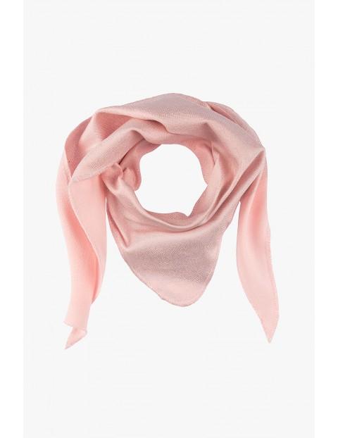 Apaszka dziewczęca różowa