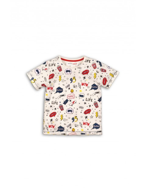 T-shirt chłopięcy 1I34F5