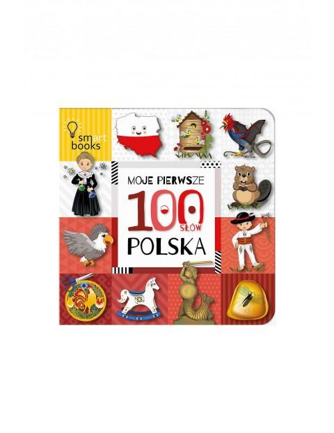 Moje pierwsze 100 słów. Polska- książka dla dzieci