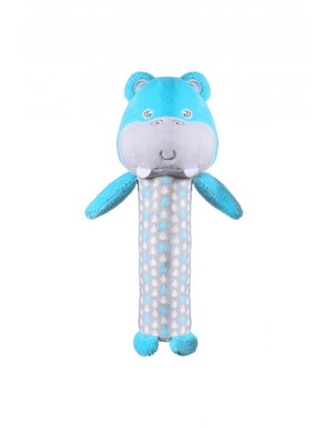 Piszczek Hipopotam Marcel- zabawka dla niemowlaka