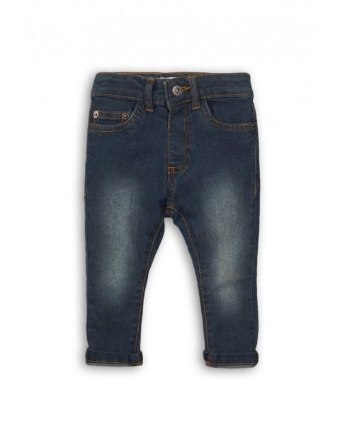Spodnie chłopięce jeansowe 1L35B9