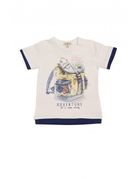 Koszulka chłopięca na lato