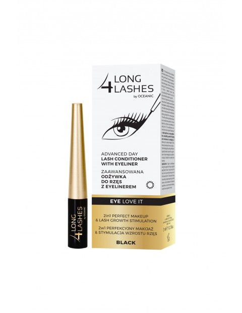 Long4Lashes Eye Love It odżywka do rzęs z eyelinerem 3 ml