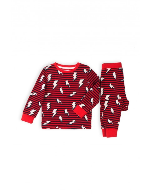 Piżama chłopięca w paski