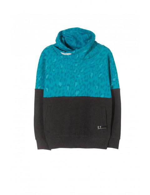 Bluza dresowa dziewczęca 4F3101