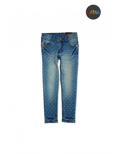 Spodnie dziewczęce 4L2936