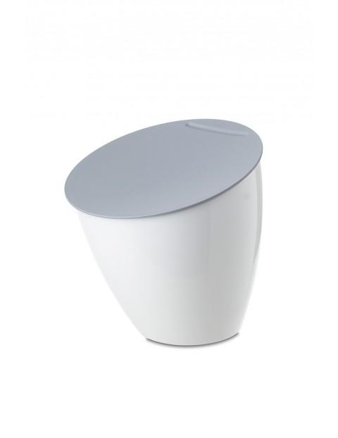 Kosz na odpadki CALYPSO- biały 2,2 L