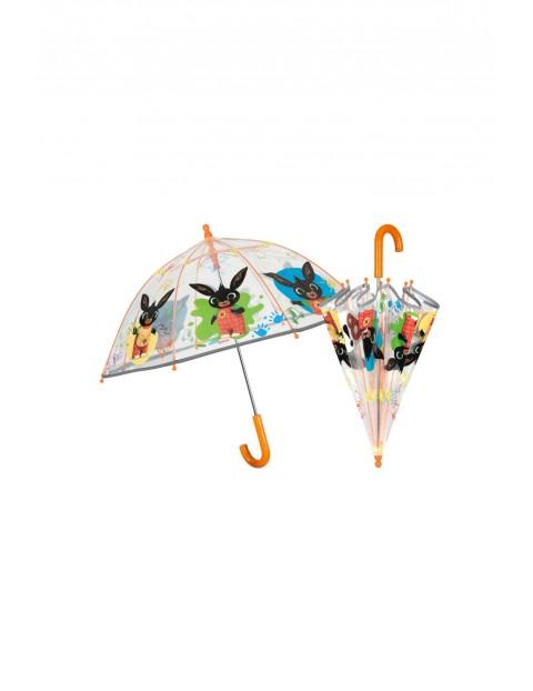 Parasol transparentny 42 cm Bing z odblaskiem