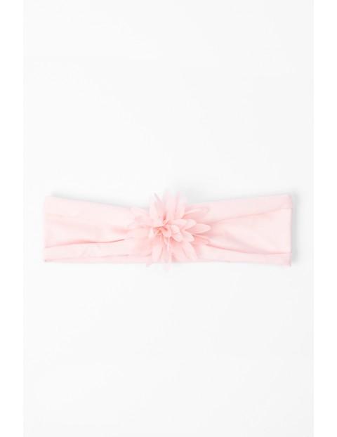 Opaska dla niemowląt różowa