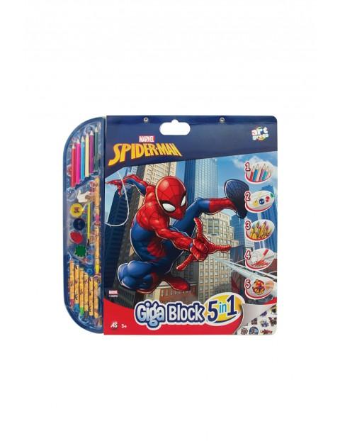 Zestaw artystyczny do malowania - Spiderman wiek 3+