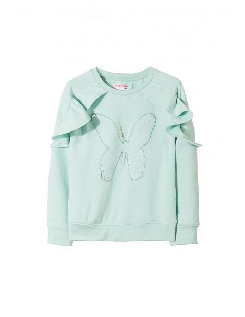 Bluza dresowa dziewczęca 4F3506