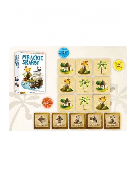 Gra edukacyjna dla dzieci Pirackie skarby wiek 6+