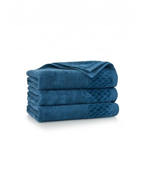 Ręcznik antybakteryjny Carlo z bawełny egipskiej tanzanit - 2pack 30x50cm
