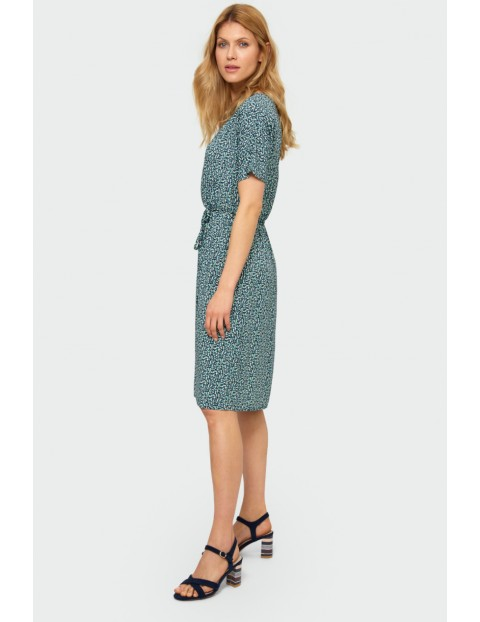 Wiskozowa sukienka damska