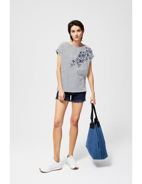Bluzka damska bawełniana w paski