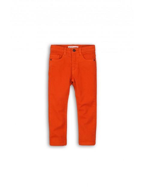 Spodnie chłopięce- pomarańczowe rozm 92/98