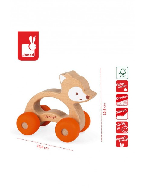 Lisek pojazd Baby Pop Janod