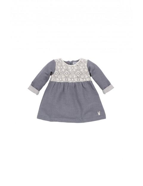 Sukienka niemowlęca 100% bawełna 5K35AL