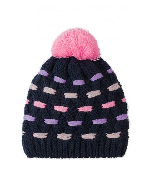 Czapka zimowa dla dziewczynki 3X3523