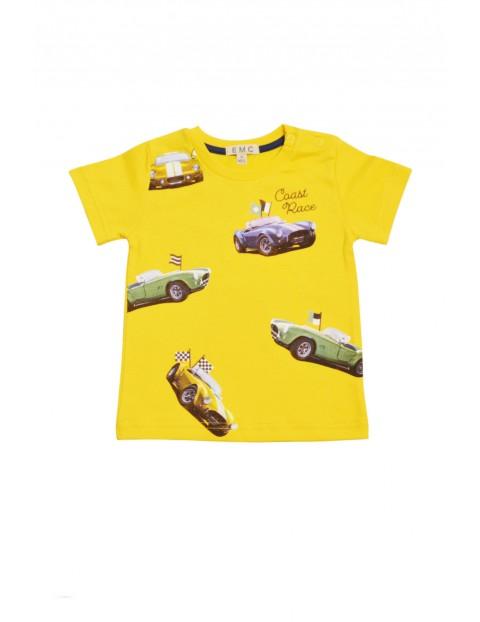 Bawełniany t-shirt dla niemowlaka