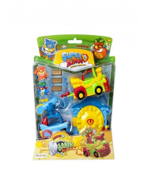 SuperZings Napad na Bank  - 2 figurki i pojazdy  wiek 3+