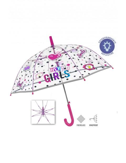 Parasolka automatyczna dziewczęca- Perletti Cool Kids 3+