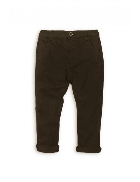 Spodnie chinosy chłopięce 1L35AS