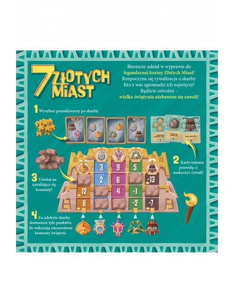 Gra dla dzieci - 7 ZŁOTYCH MIAST wiek 8+