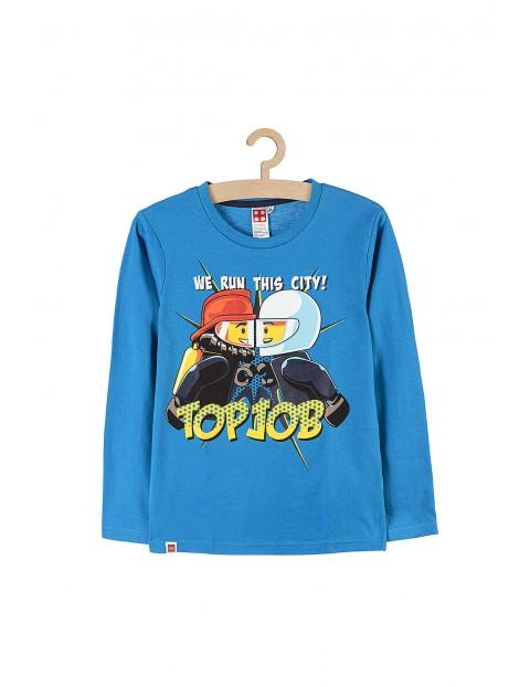 Bluzka chłopięca Lego City Top Job