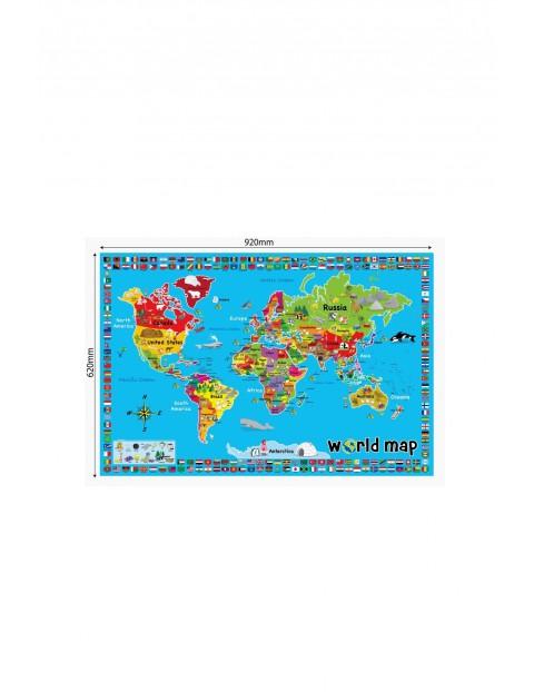 Mata edukacyjna- Mapa świata 1O33A6