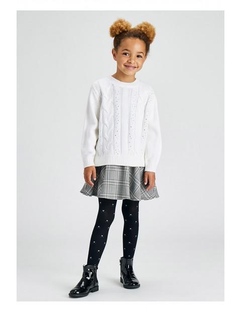 Komplet dziewczęcy - sukienka i sweter