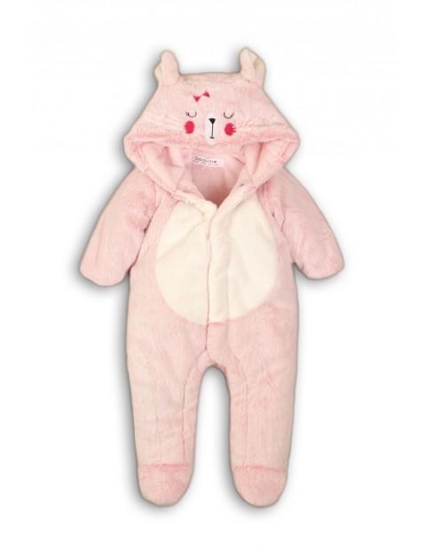 Kombinezon dla niemowlaka- różowy