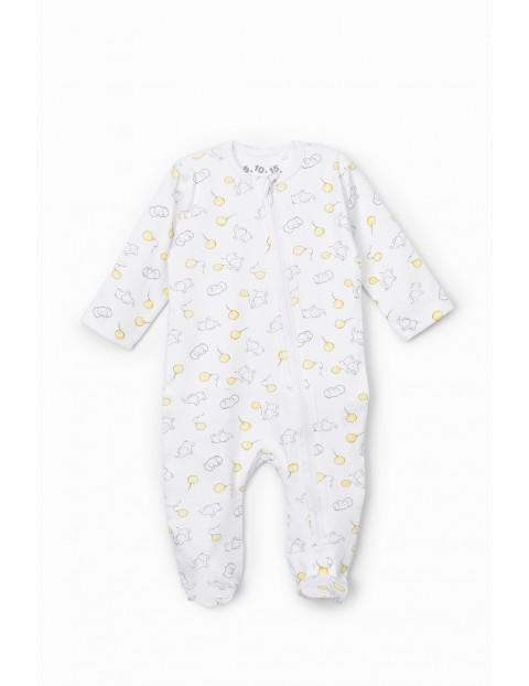 Pajac niemowlęcy bawełniany- wyprawka dla niemowlaka