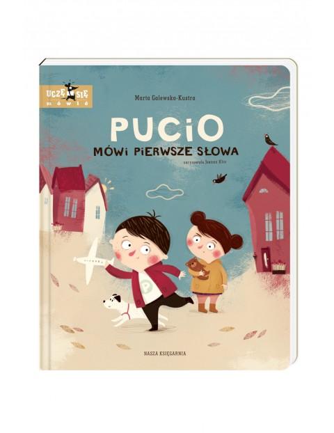 """Książka """"Pucio mówi pierwsze słowa"""""""