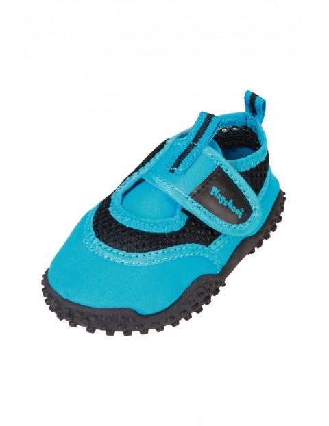 Buty kąpielowe niebieskie z filtrem UV 50+