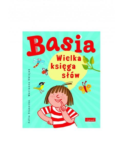"""Książka """"Basia. Wielka księga słów"""""""