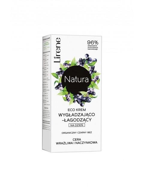 Lirene Natura Eco krem wygładzająco-łagodzący na dzień organiczny czarny bez 50 ml