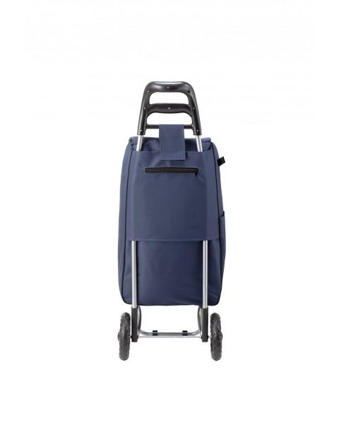 Wózek/torba za zakupy w kolorze granatowym