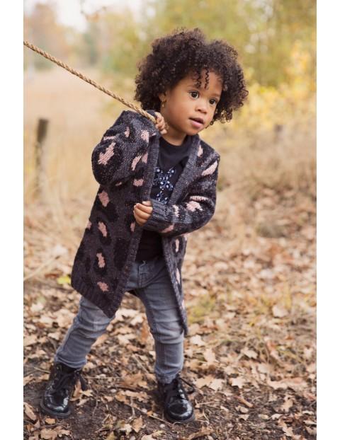 Sweter dziewczęcy- kardigan