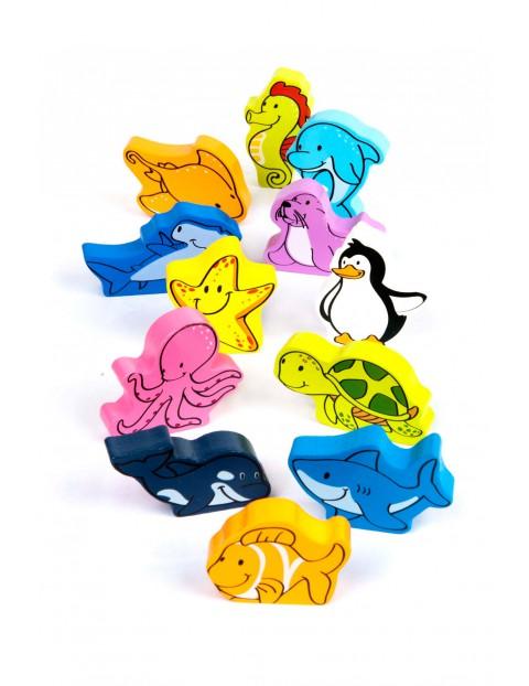 Podwodne zwierzaki 12el